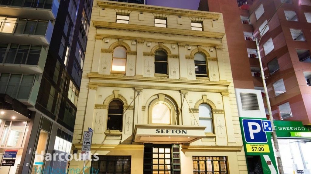 The Sefton building dates back to 1872. Photo: Harcourts