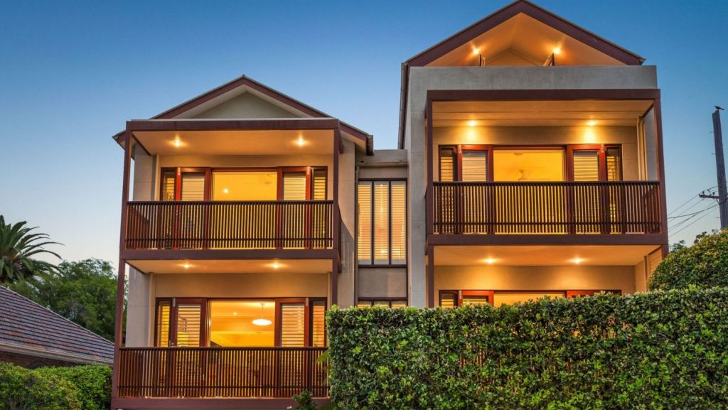 A home with harbour views at 29 Louisa Road, Birchgrove, sold for $5,311,000.