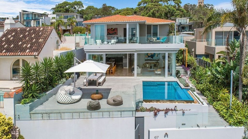 A five-bedroom contemporary home at 67 Bower Street, Manly, fetched $9,710,000.
