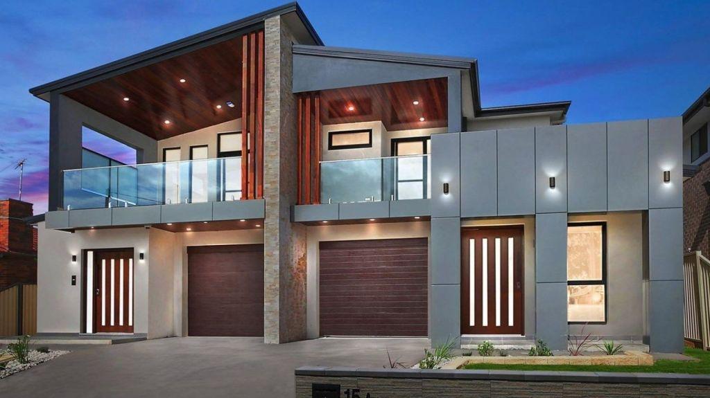 Modern duplex designs boast contemporary features. Photo: Supplied