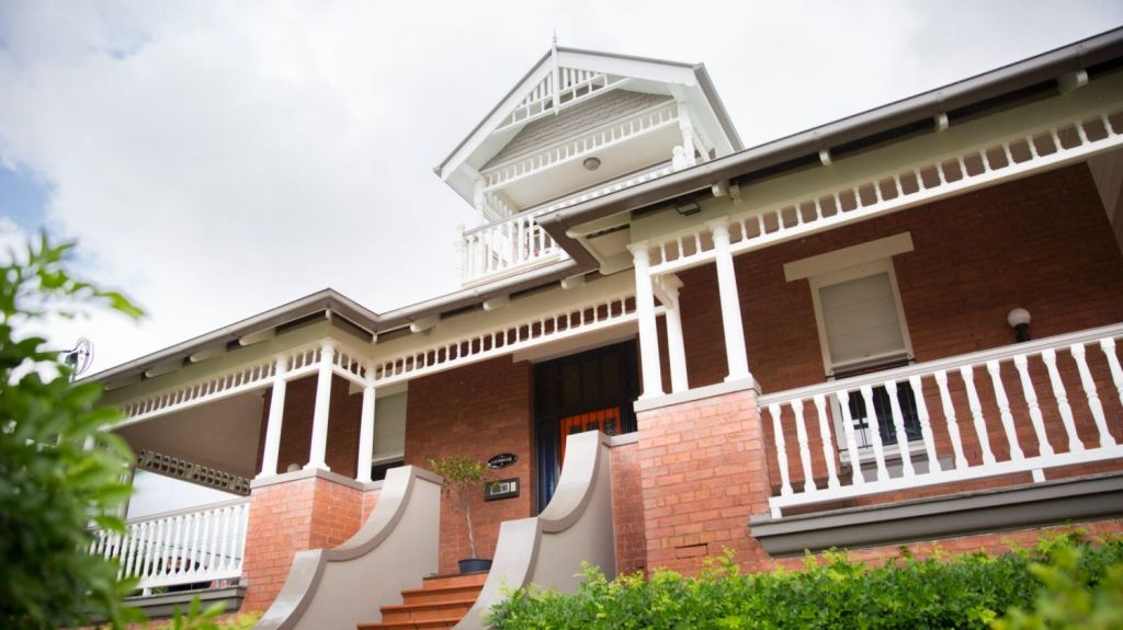 A house steeped in history: 26 Thornbury Street, Spring Hill. Photo: Tammy Law