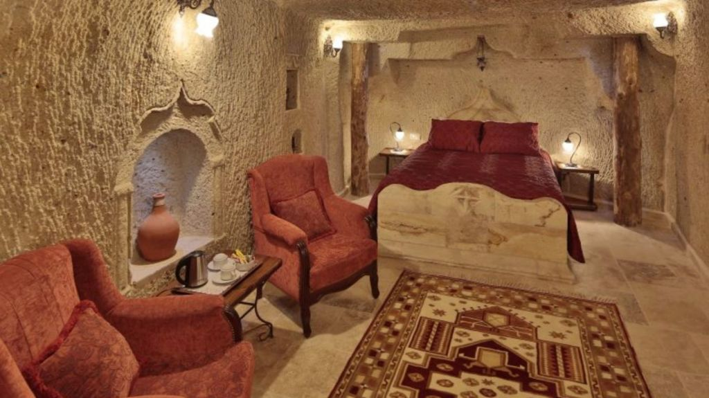 Yvette Koc's five-storey Goreme home has turned into a boutique hotel.