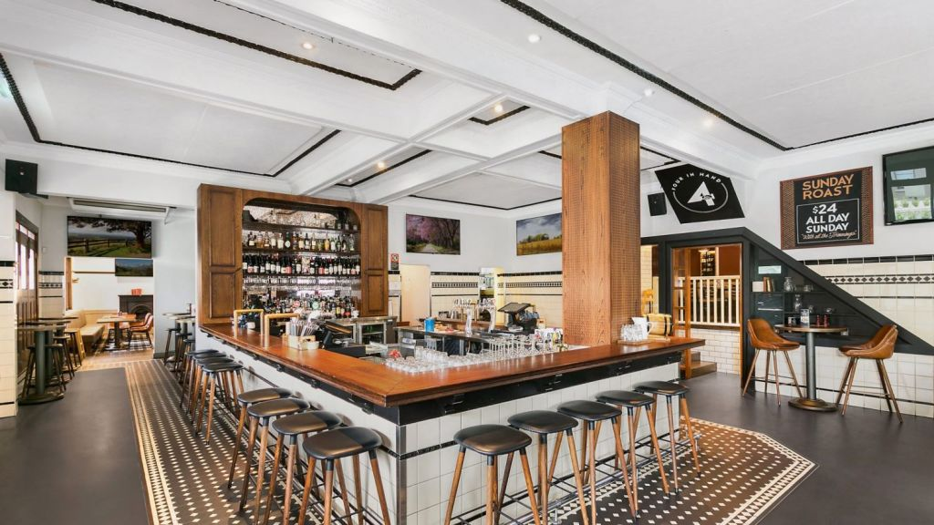 The two-storey pub offers 700 square metres of internal living space. Photo: Supplied
