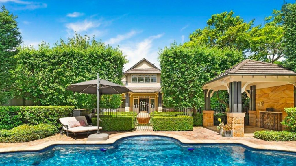 This five-bedroom home in Killara recorded Sydney's top sale price for the weekend at $5.7 million.