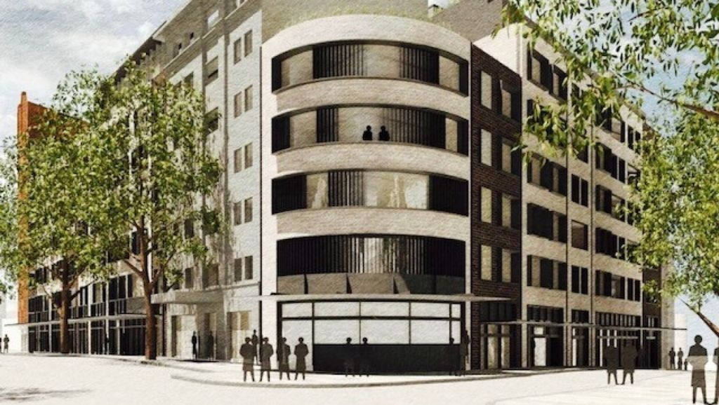 The development plan for the Bourbon in Kings Cross has been withdrawn.