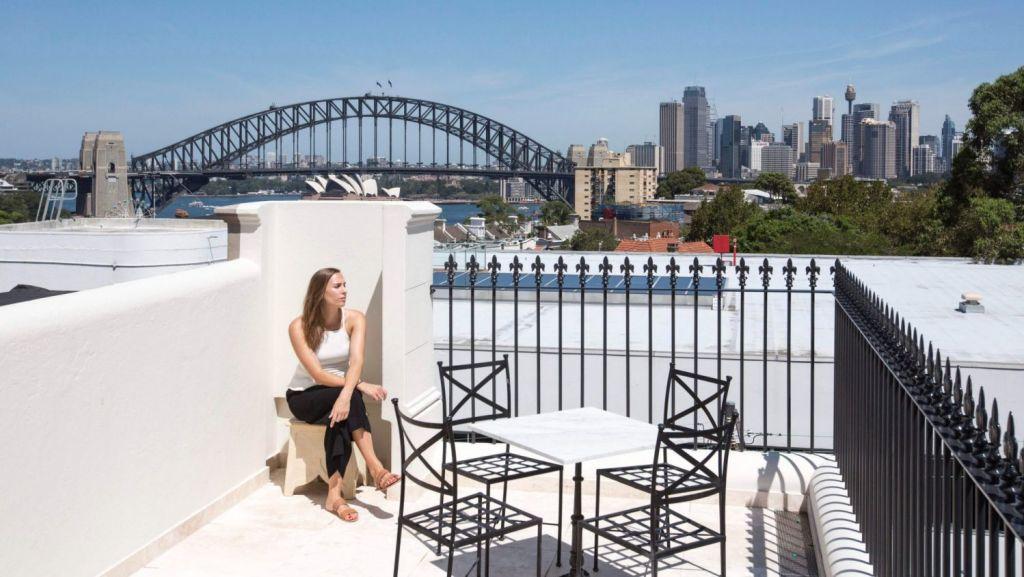 Danny Broe has created a home that captures the very essence of Sydney. Photo: Karina Illovska