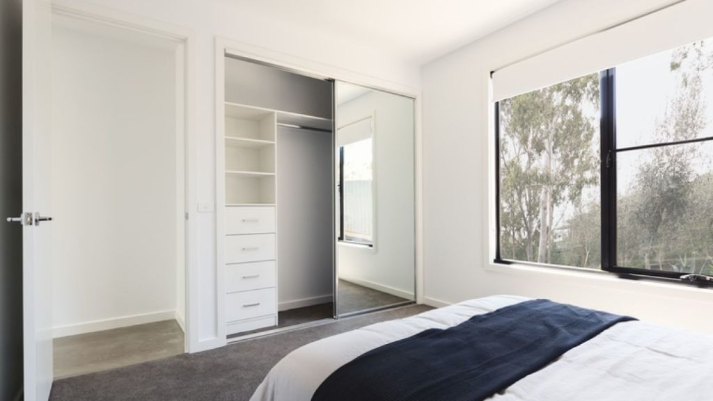 Using roller blinds in the bedroom is not a great idea. Photo: iStock