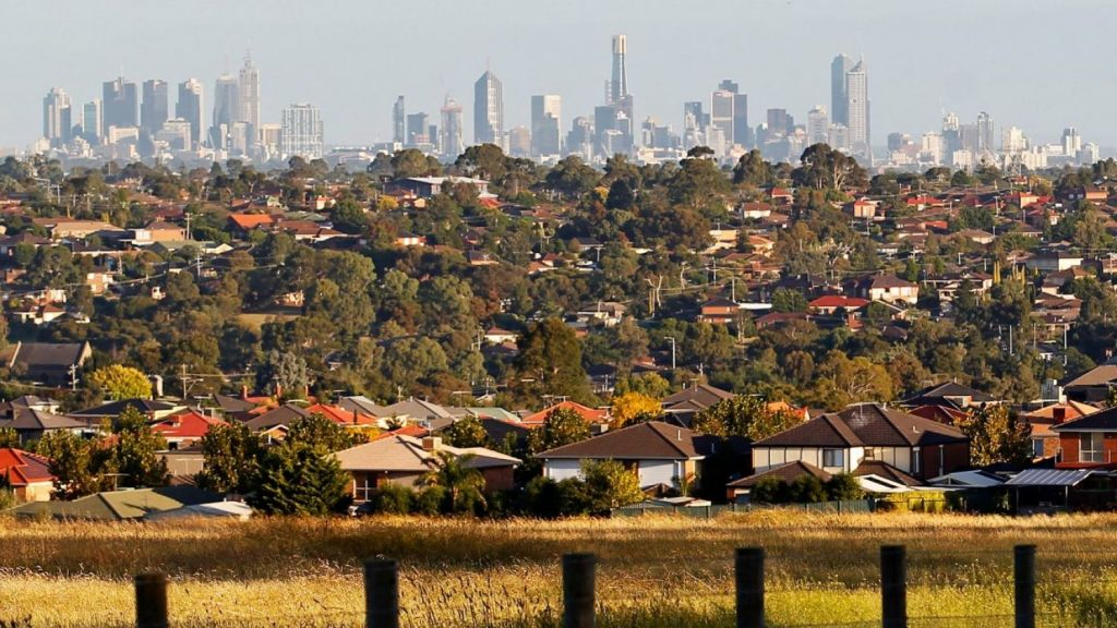 Melbourne's house prices have seen the lowest quarterly growth in five and a half years. Photo: Paul Rovere