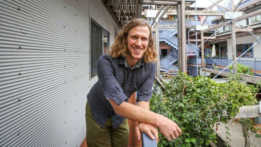 Dr Bjorn Sturmberg at Stucco Co-operative. Photo: Katherine Griffiths, City of Sydney