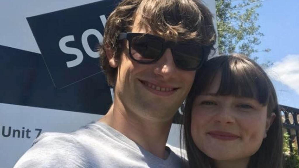 Mark Langley and Eve Walton-Healy lived with their parents to 'aggressively' save for a deposit.