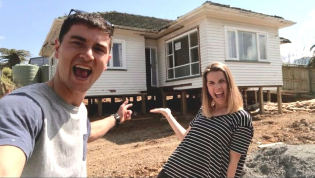 The Pearsons say they expect the worst right from the outset when they take on a new renovation. Photo: Pearson + Projects