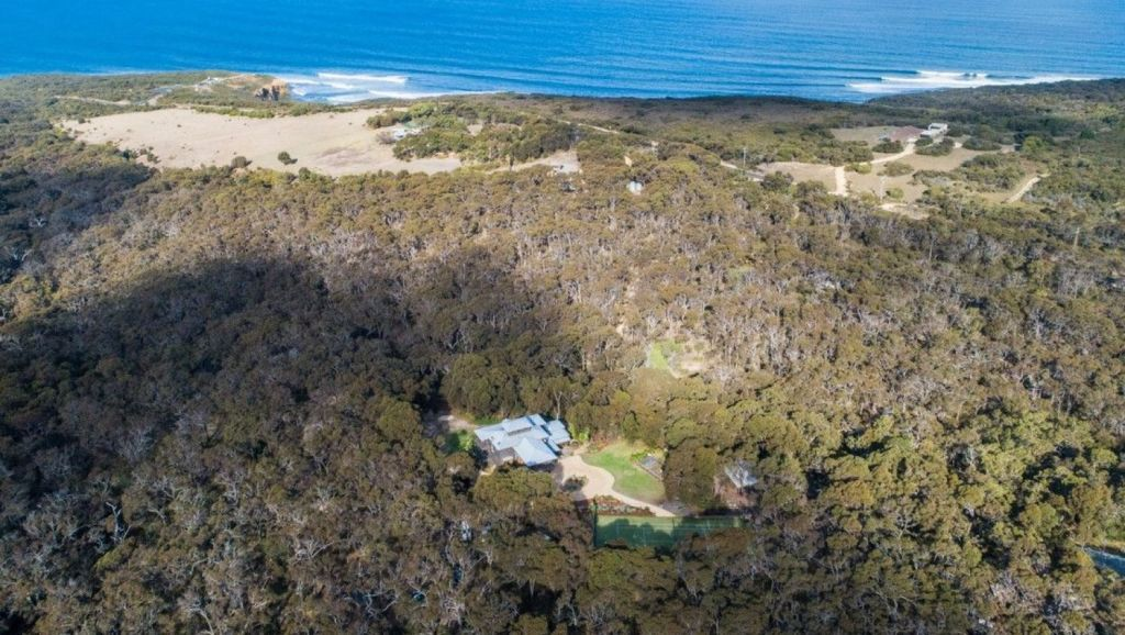 Buckley says she and the family feel surrounded by nature. Photo: McCartney Real Estate