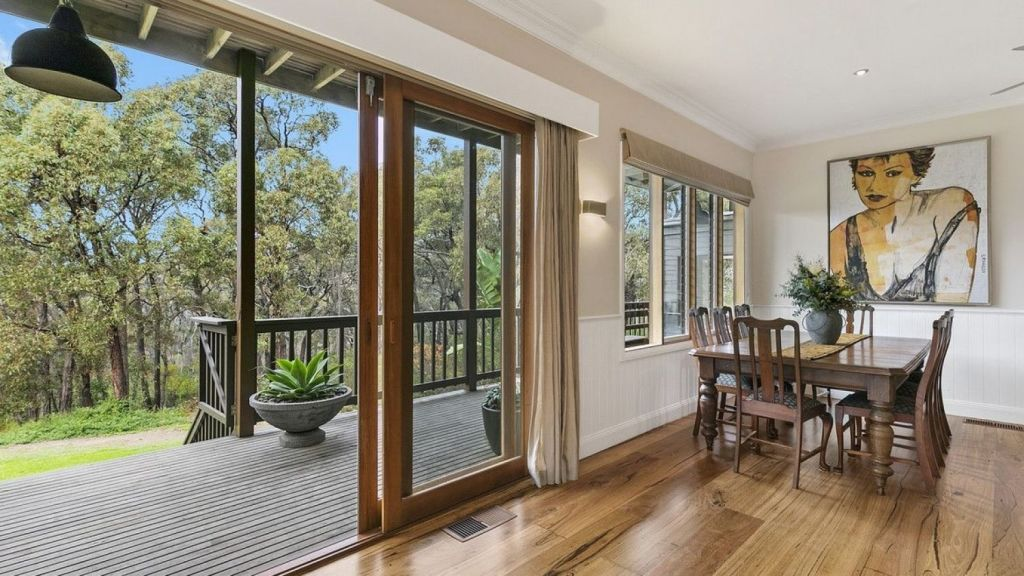 Nicky Buckley's Bells Beach home is up for sale. Photo: McCartney Real Estate