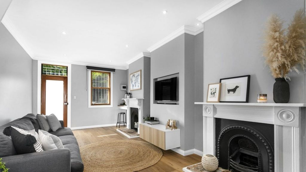 Period features, such as fireplaces, should be retained and restored where possible. Photo: Supplied