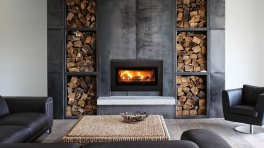 If you love the authenticity of wood fireplaces but live in the city, you'll need one that's clean air approved. Stovax Studio wood fires can be in-built or freestanding. Photo: The Fireplace