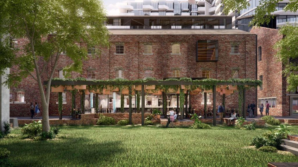 The Malt District is due for completion in 2020. Photo: Artist's impression