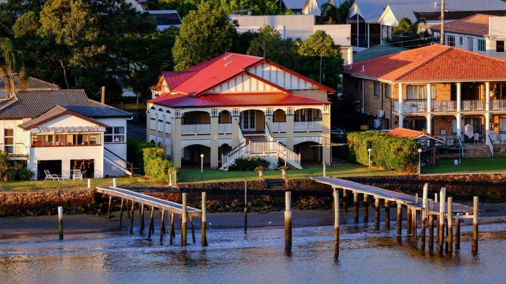 Bulimba sits on the Brisbane River. Photo: Matthew Murray
