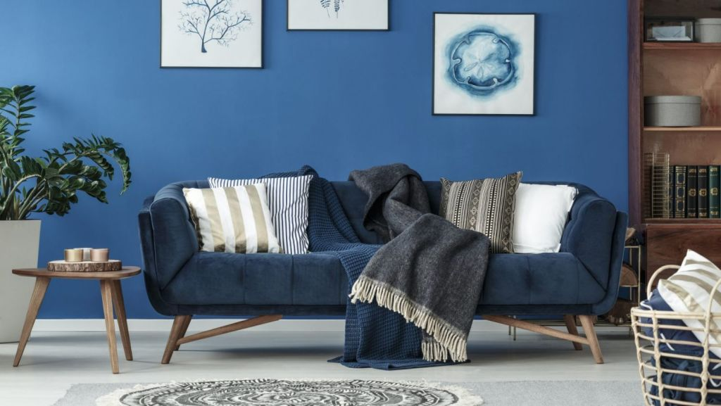Incorporating denim into your home isn't as hard as it might seem. Photo: istock