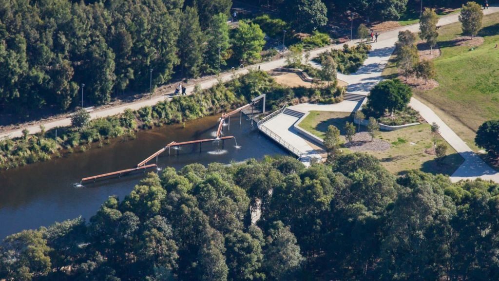 The Sydney Park Water Re-Use Project was recognised as Best in Class for urban design. Photo: Supplied