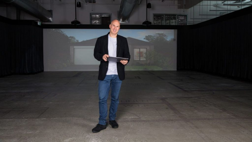 Darren Mehl, the driving force of Tick Homes. Photo: Eliana Schoulal