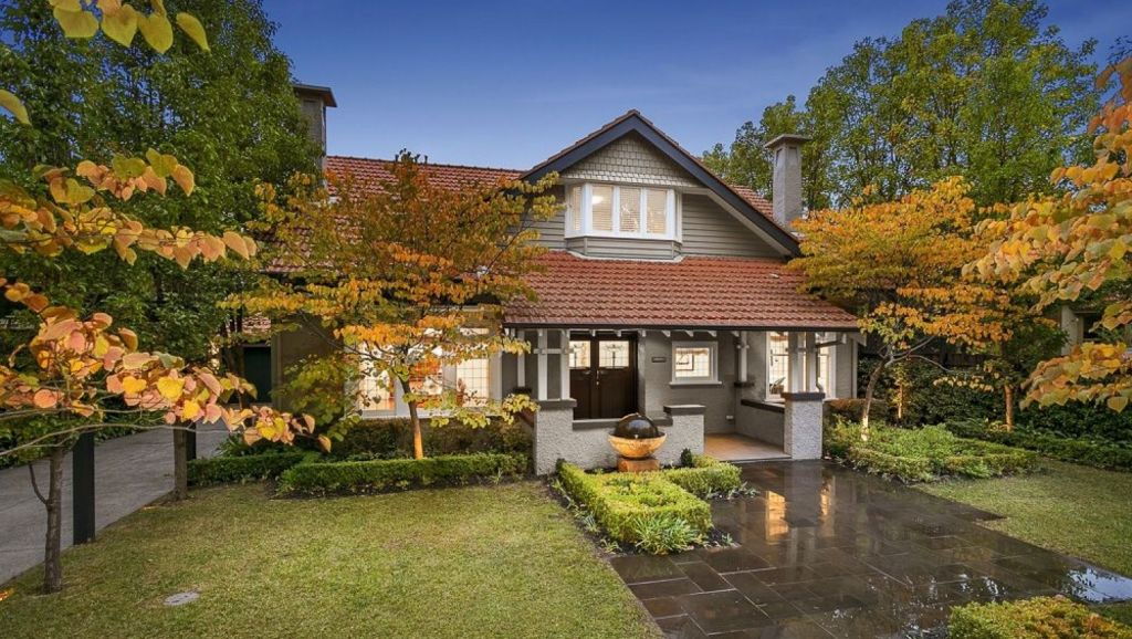 The highest reported auction sale at the weekend was for sumptuously renovated period house at 56 Kerferd Street, Malvern East. Photo: Thomson