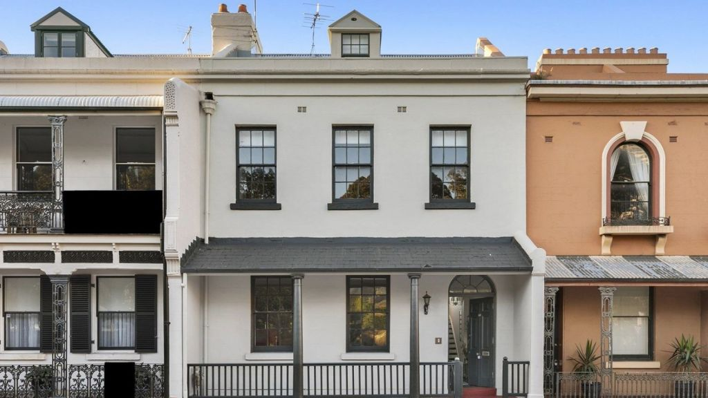 The property on Argyle Place is one of the first renovated Millers Point homes to return to the market.