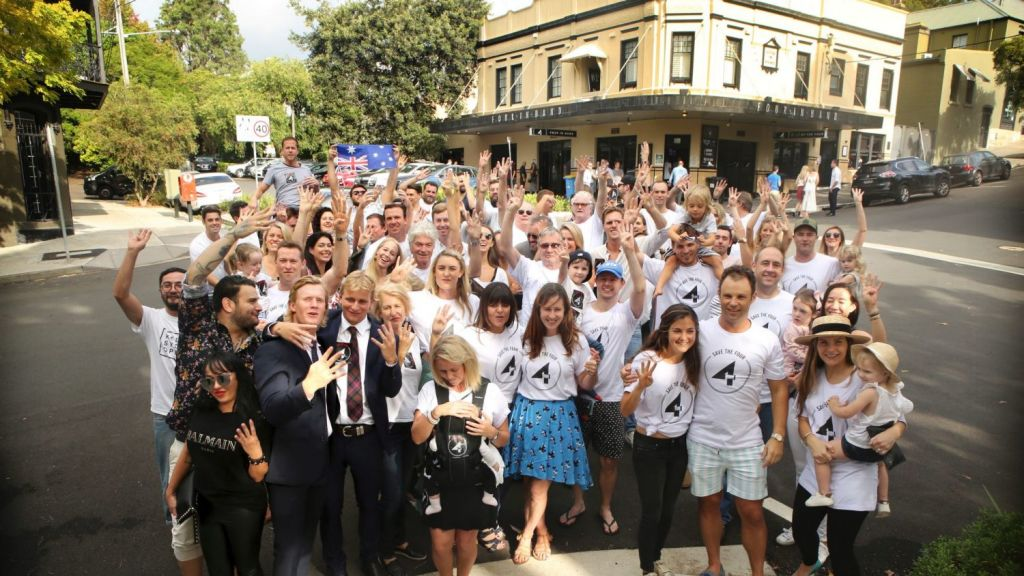 Almost 10,000 people have signed a petition to try save the Four in Hand Hotel in Paddington, which will be assessed to determine its heritage value. Photo: James Alcock