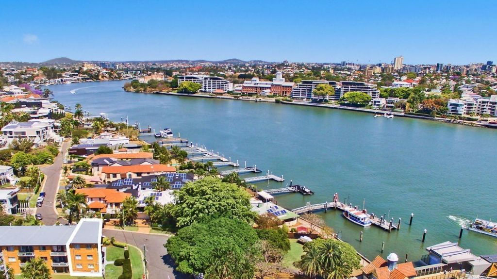 Across the river from Hawthorne, in Brisbane's east, apartments at Teneriffe and New Farm are in high demand from owner-occupiers.