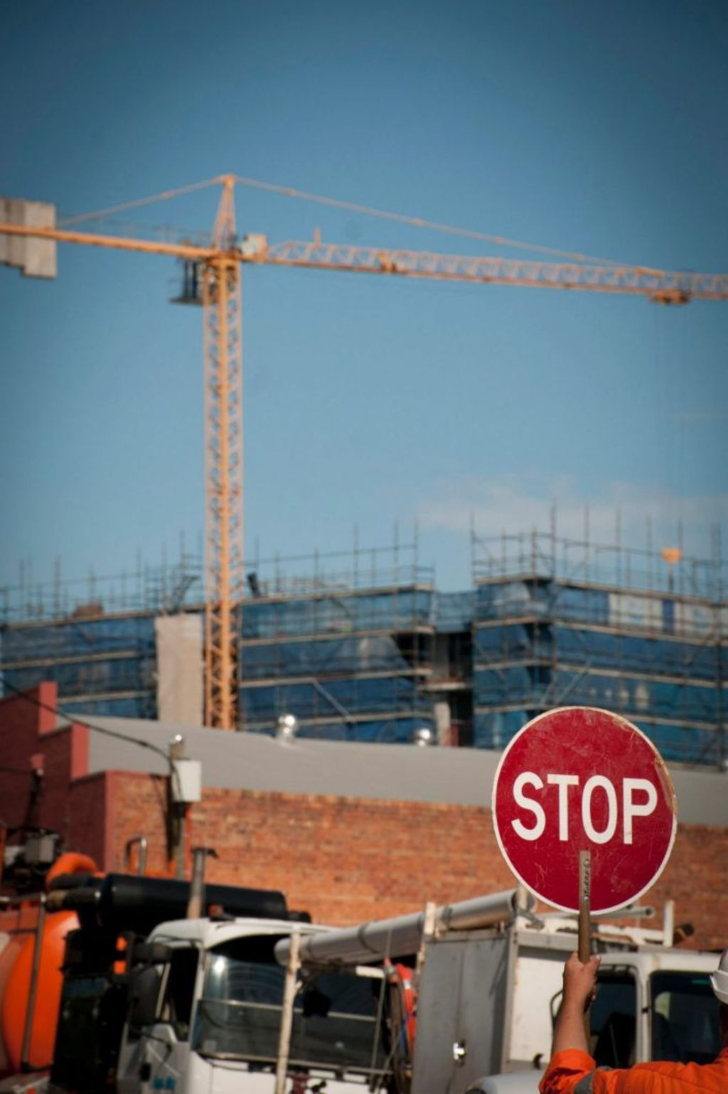 Construction has slowed and development approvals come to a standstill, which means the apartment market is on the road to recovery. Photo: Robert Shakespeare