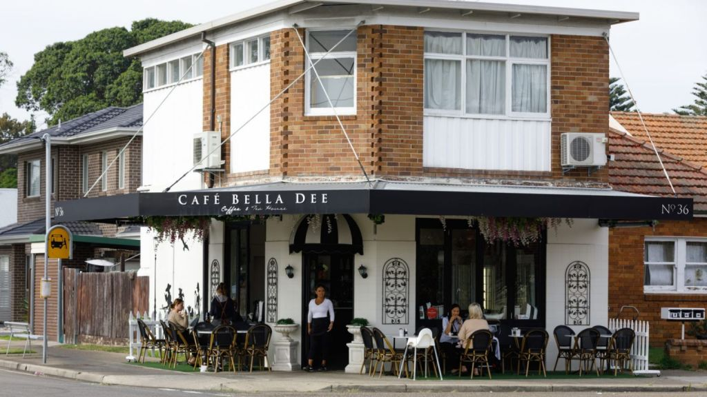 Live Easy Cafe, Cooked and Co, Dough and Bean, and Cafe Bella Dee are some of the neighbourhood's cafe culture highlights. Photo: Steven Woodburn