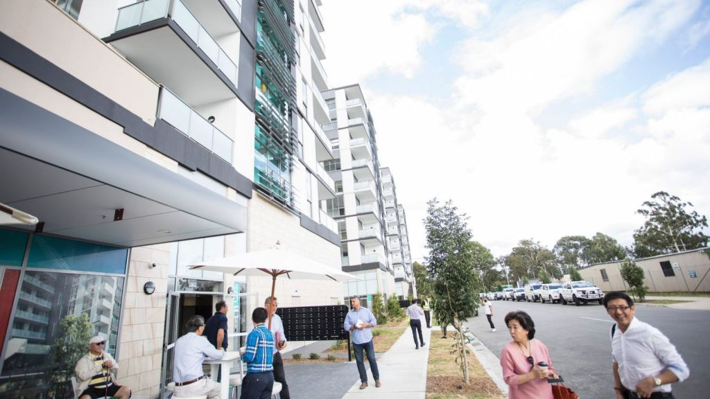 Low-income earners have likened securing a home in a landmark $100 million development in Sydney's west to ''winning the lottery''.