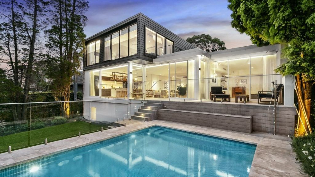 The most expensive reported sale on the weekend was for a contemporary four-bedroom home at 20 Wilona Avenue, Greenwich.