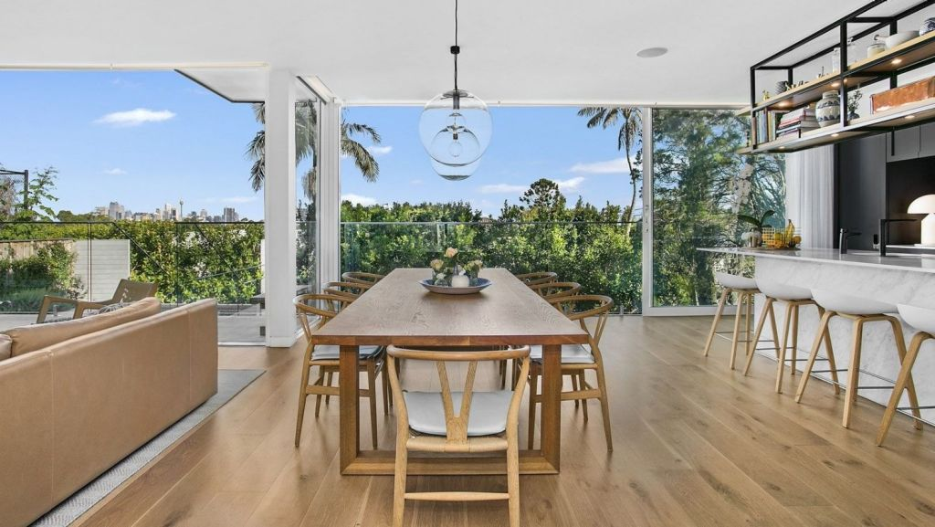 The property bested its reserve by $250,000 to sell for $5.75 million through Belle Property Lane Cove.