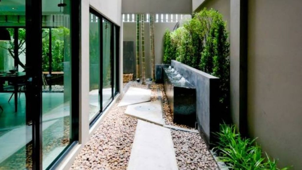 Indoor courtyards are ideally suited, but not limited to, buildings with little or no backyard. Photo: istock