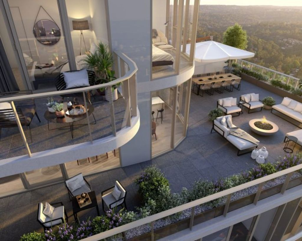 The two-storey penthouse at The Langston. Photo: Supplied