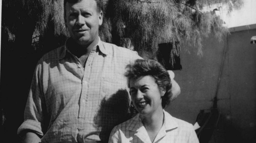 The late Tony and Judith Chisholm, who later divorced in the mid-1980s, pictured here in 1961. Photo: Fairfax Media