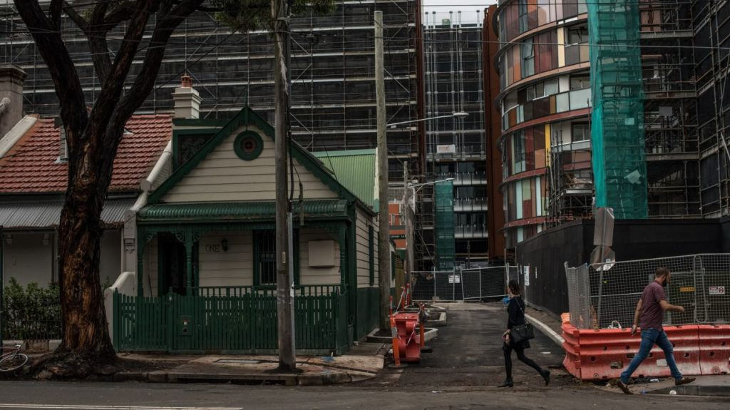 Urbis' Alex Stuart said the South Sydney area, which included Green Square, was still experiencing a lot of developments. Photo: Wolter Peeters