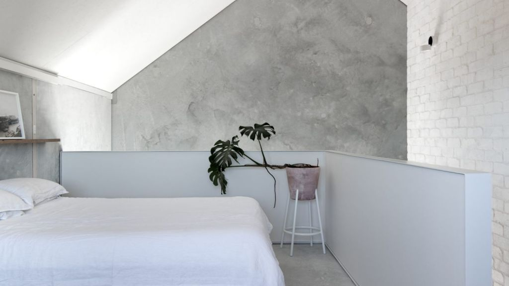 Architect Kate FitzGerald designed the home to suit a young, self-employed couple. Photo: Ben Hosking