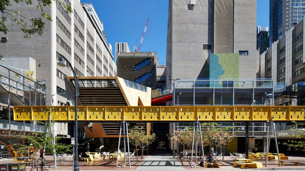 RMIT's New Academic Street Photo: Peter Bennetts