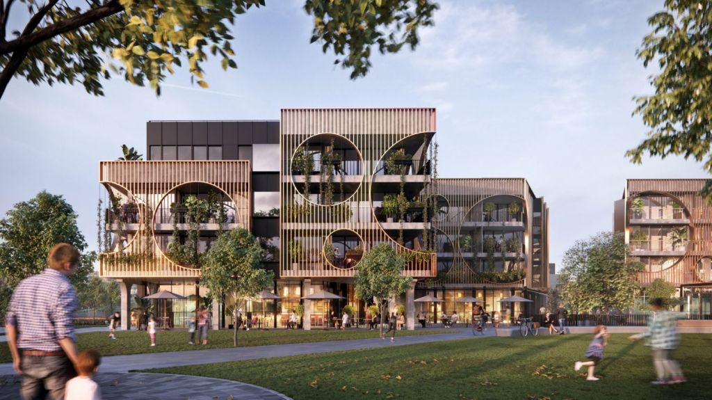 YarraBend's latest release of boutique apartments caters to a growing downsizer interest in the area. Photo: DKO Architecture