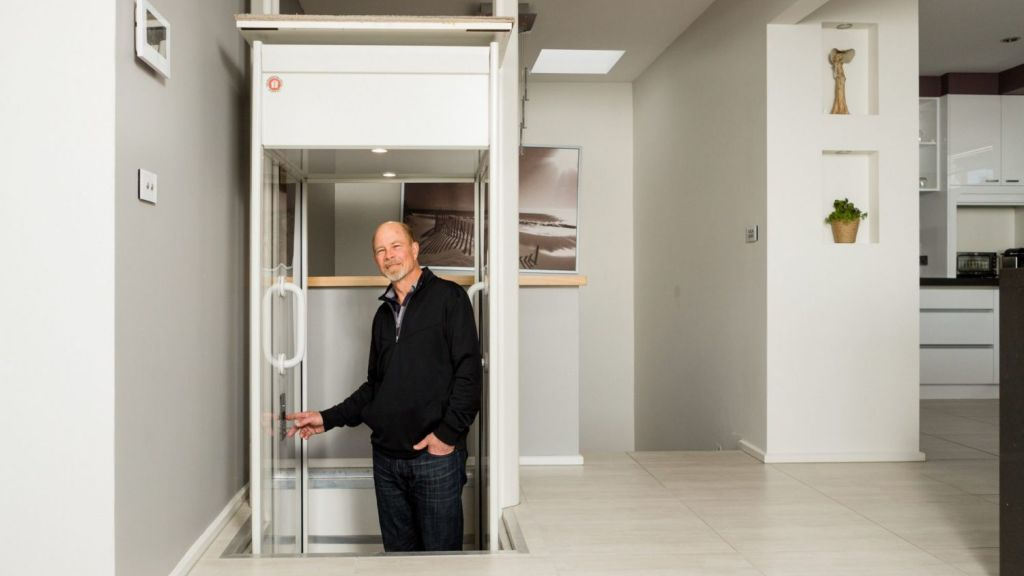 Lift installation companies say narrower blocks and convenience are among key reasons people decide to install lifts. Photo: Greg Briggs