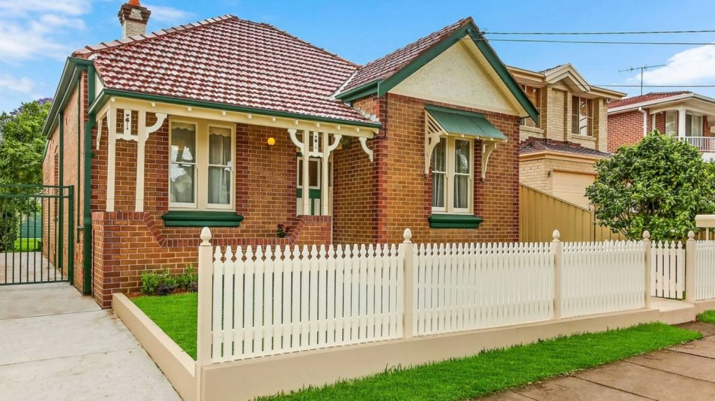 Refreshing paint and tidying gardens may improve the result of a valuation Photo: Domain