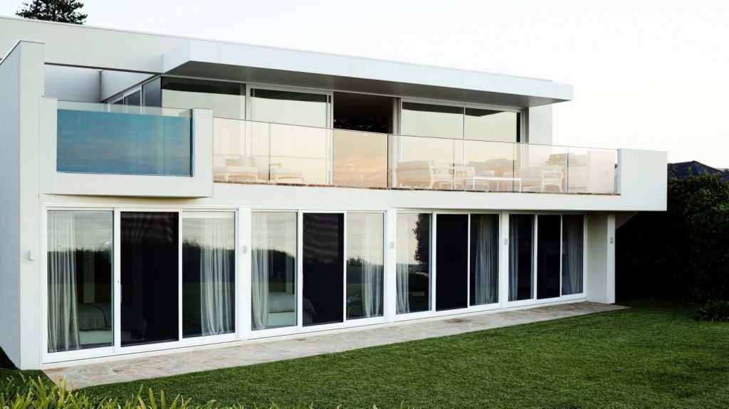 The Portsea project was a typical Hicks example of understated luxury. Photo: Mark Roper