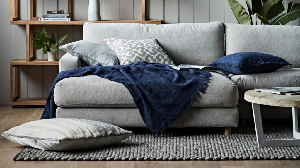 A substantial throw can be just the ticket for warming up your rooms and yourselves. Photo: Globe West