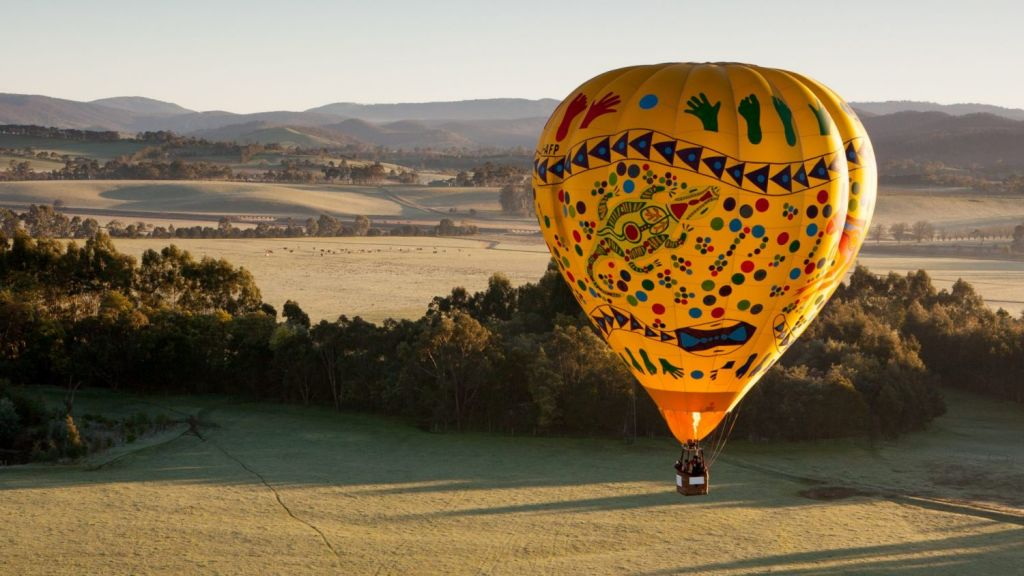 The region, blessed with clean, crisp air, is popular for hot air balloon flights. Photo: Getty Images / iStock
