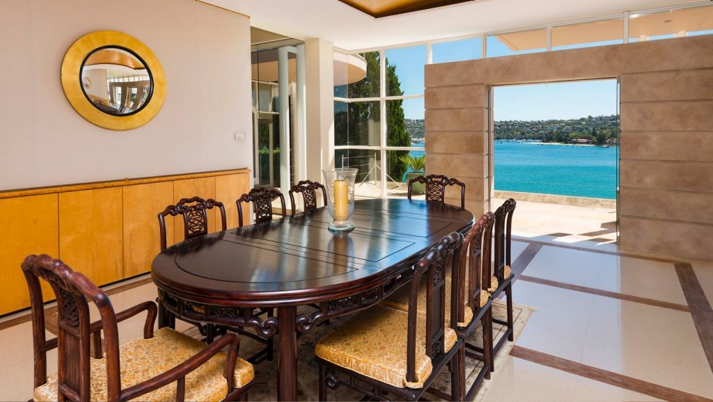 Hopetoun has four separate formal and informal living areas, six bedrooms and nine bathrooms. Photo: Supplied
