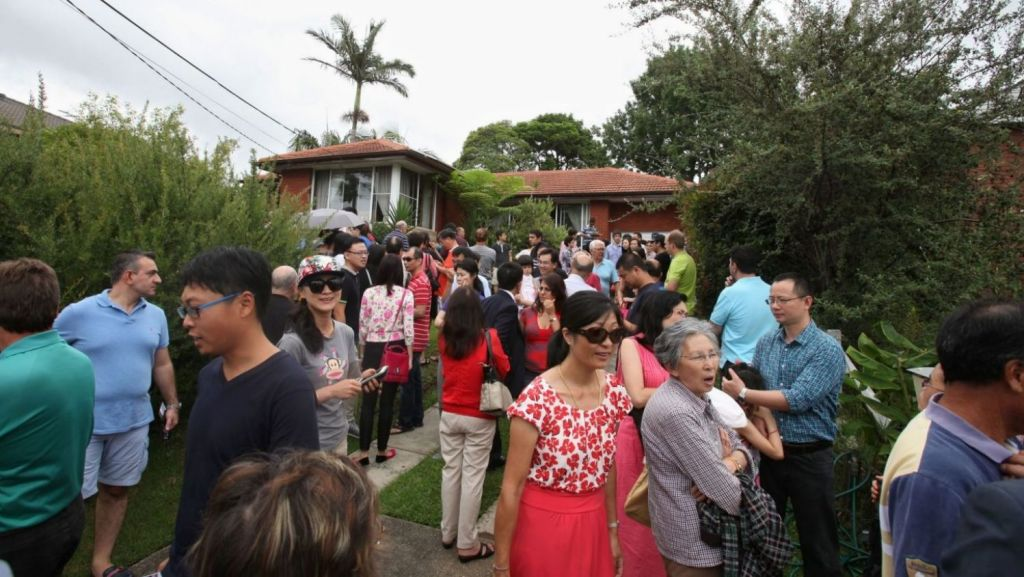 Migrants are less likely to own a home in Sydney, than migrants in Melbourne. Photo: Fiona Morris.