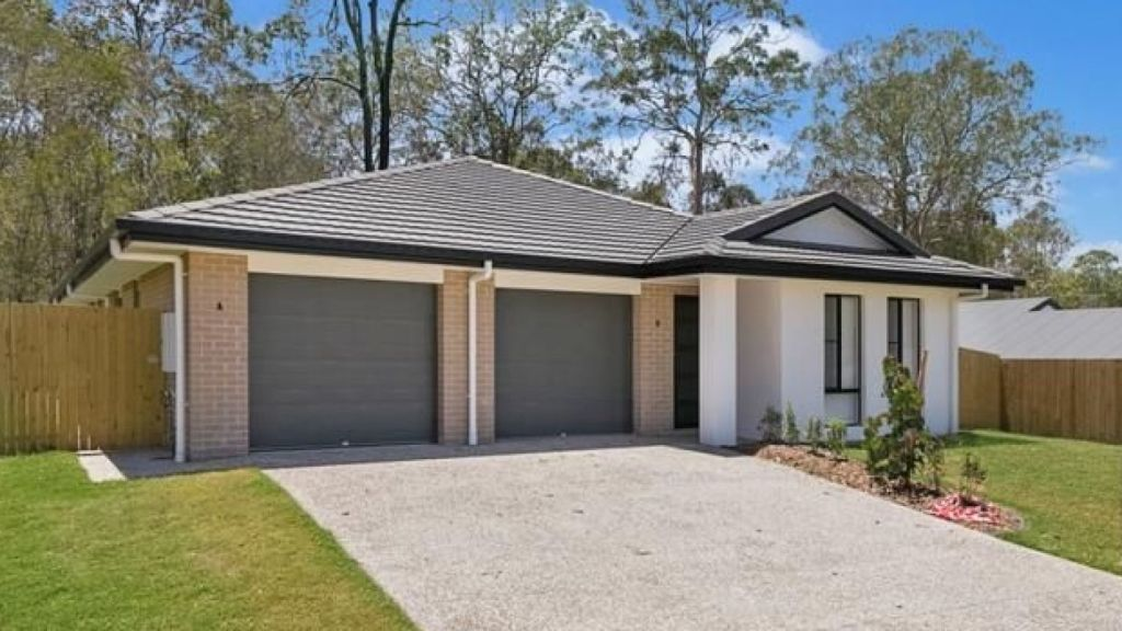This brand new duplex at Bellbird Park is renting for $260 a week. Photo: Ray White Taigum