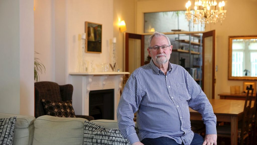 Darlinghurst vendor Mark Smith has been trying to sell his heritage-listed terrace since it passed in at auction in October. Photo: James Alcock
