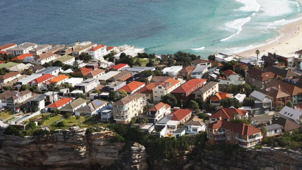 Over the three months to June property prices declined most in the city and east, which recorded a fall of 8 per cent. Photo: Peter Braig